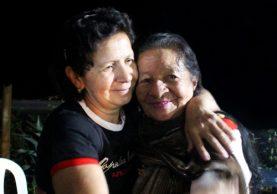 42 años de ausencia no debilitaron el amor filial