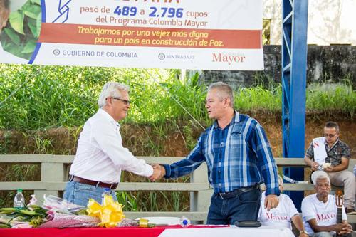 Argelia y Patía reciben ampliación de cobertura de Colombia Mayor