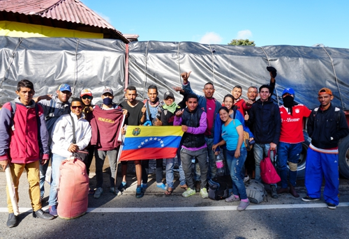 Cauca, territorio de tránsito de venezolanos