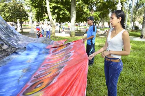 """Con arte se transforma el """"barrismo"""" en Quilichao"""