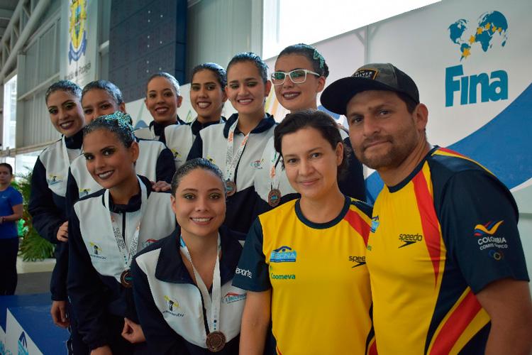 Comité Ejecutivo de la Federación Colombiana de Natación
