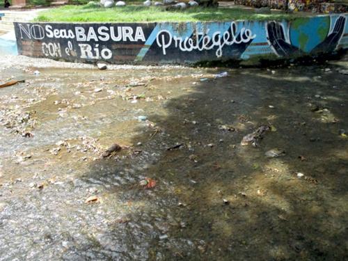 No seas basura con el río Quilichao