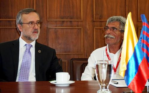 Unicauca firma convenio con Proclama del Cauca