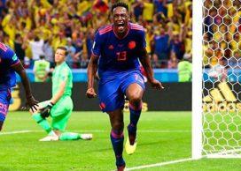 Cachetada de Yerry Mina al técnico del Barcelona