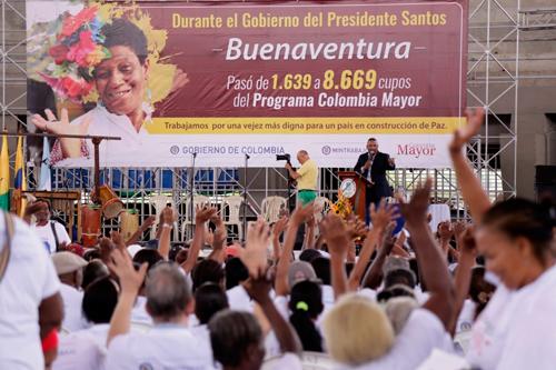 Nuevos beneficiarios de Buenaventura y Dagua