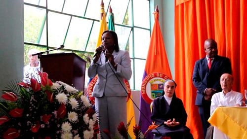 María Liliana Ararat Mejía, alcaldesa del municipio.