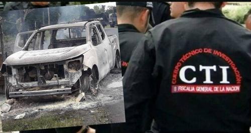 Capturan a presuntos responsables del asesinato de agentes del CTI