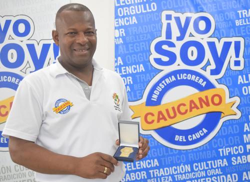 Elias Larrahondo Carbalí, gerente Industria Licorera del Cauca