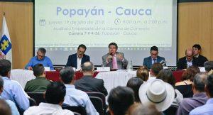 Fiscalía priorizó 11 investigaciones en Cauca