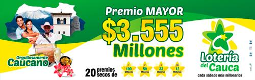 Se acerca el mes millonario de la Lotería del Cauca