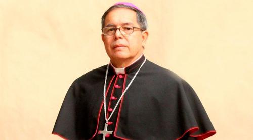 Monseñor Rueda Aparicio, ejerce como arzobispo de Popayán
