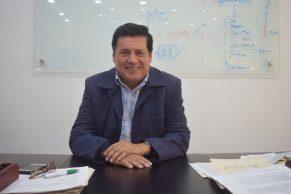 Miguel Eduardo Muñoz Guevara, gerente de la Lotería