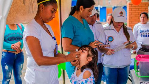 Niños del Cauca quedarán protegidos con la tercera jornada de vacunación
