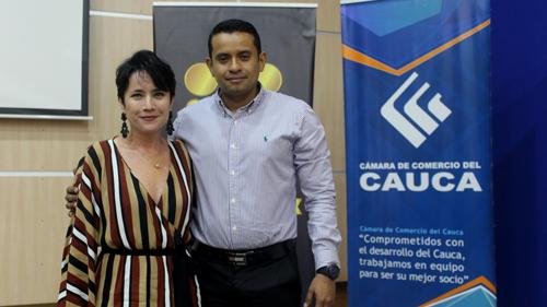 Cámara de Comercio da bienvenida al nuevo director seccional del norte del Cauca