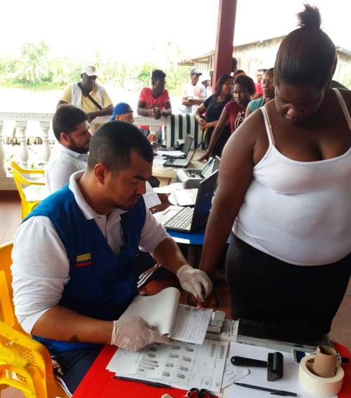 Gobernación del Cauca acompaña jornada de identificación en Pacífico Caucano