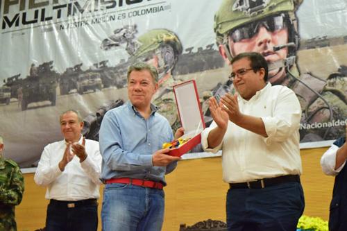 Presidente de la República certifica a Popayán y Florencia libres de minas