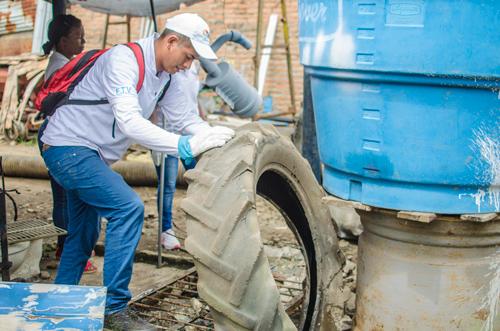 Gran jornada de recolección de inservibles en Villa Rica