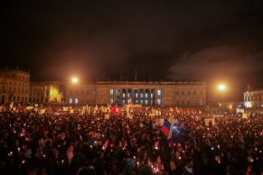 Velatón, asesinatos y paramilitarismo