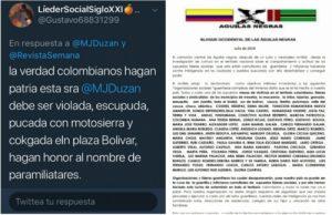Jineth Bedoya y María Jimena Duzán fueron amenazadas