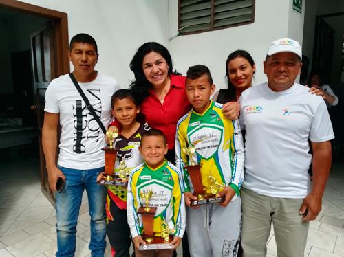 Campeones de los Centros de Desarrollo Deportivo Integral
