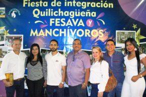Amigos quilichagüeños se integraron como en familia