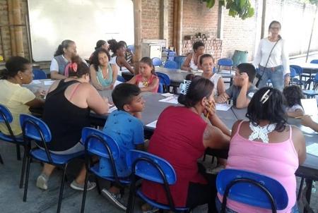 Centro de Escucha para prevenir drogadicción en Corinto