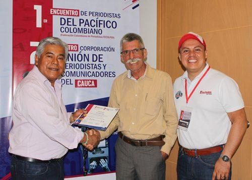 Periodismo en el Cauca, Erick Vargas, Gustavo Mosorongo, Día del Periodista