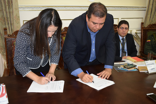 Gobernación de Cauca y Coljuegos firman pacto por legalidad