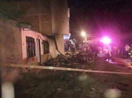 Explosión de moto-bomba en Corinto