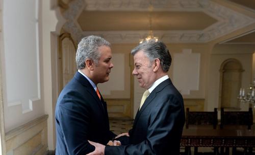 Santos, el presidente de la paz