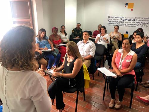 Avanza el Programa de Ciudades Seguras para mujeres y niñas en Popayán