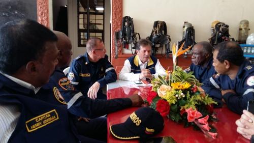 Director de la UNGRD, declarado Capitán de Bomberos de Quilichao