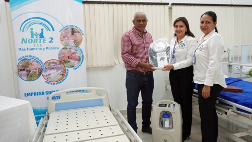 ESE Norte 2 entregó dotación a hospitales nortecaucanos