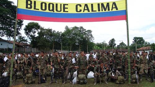 El Bloque Calima de los paramilitares