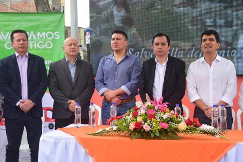 Lista la calle 4 en Popayán