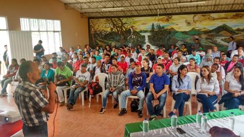 Socializamos proyecto de electrificación en el municipio de Morales