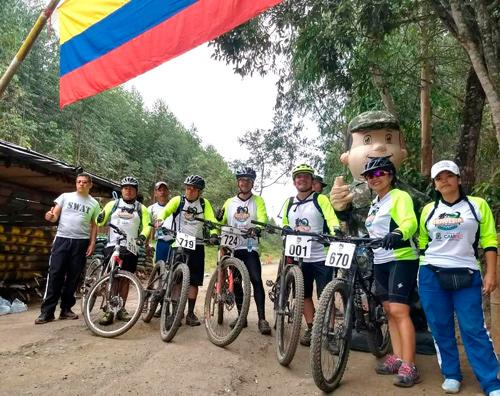 Mil Ciclomontañistas participaron de la Travesía 2018