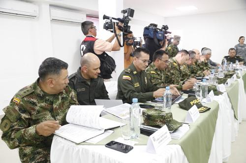 Consejo de seguridad en el Cauca