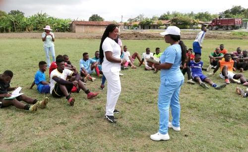 Deporte y salud promociona la ESE Norte 2 en Guachené