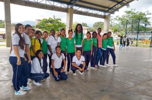 En Caloto, el deporte es salud: ESE Norte 2