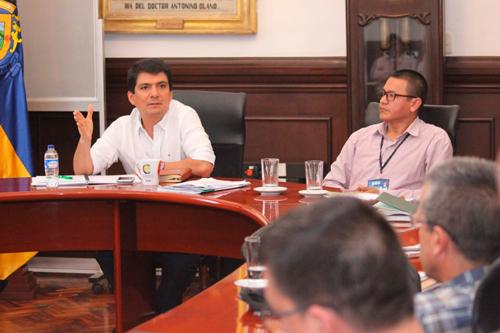 Encuentro del sector salud con el alcalde de Popayán