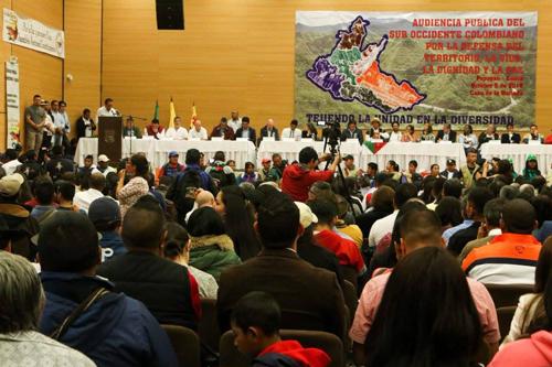 Congresistas manifestaron su inconformismo, ante la ausencia de las autoridades del Gobierno Nacional