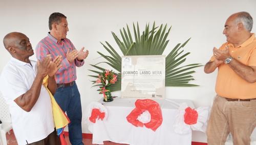 Inaugurada la Casa de la Cultura Domingo Lasso
