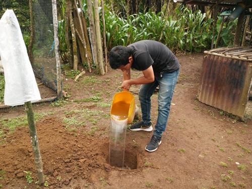 Inversiones de saneamiento básico en Santa Rosa, Cauca
