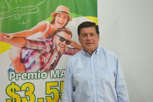 Miguel Eduardo Muñoz Guevara, gerente Lotería del Cauca
