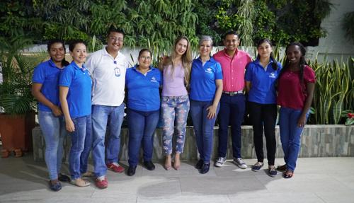 Equipo humano de la Cámara de Comercio del Cauca - Sede Norte del Cauca