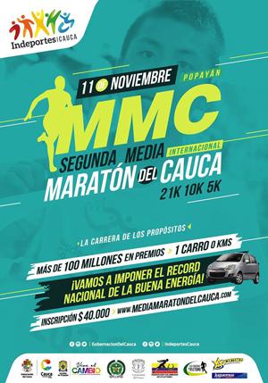 Segunda Media Maratón del Cauca