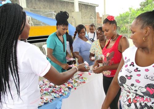 Festival de la Embarazada celebró la Alcaldía y la ESE Norte 2 en Guachené