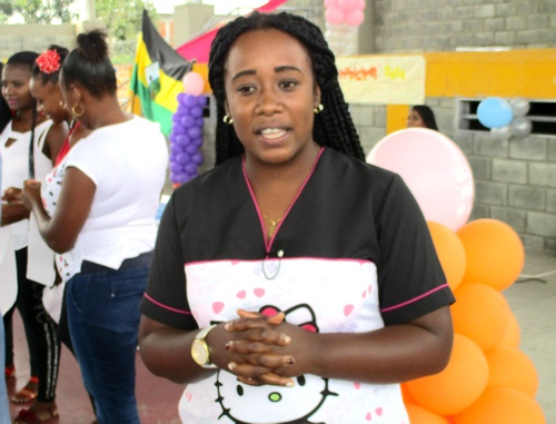 Evelyn Chará Banguero, coordinadora del Plan de Intervenciones Colectivas (PIC) Municipal de Guachené