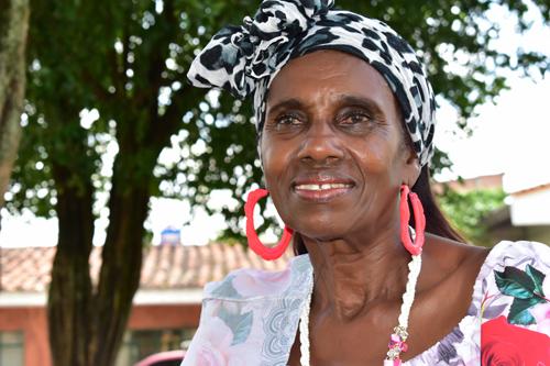 Ana Melva Banguero matrona cultural del norte del Cauca